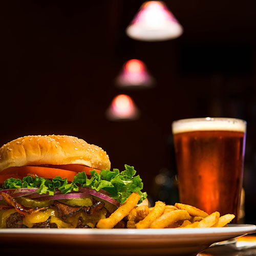 Cairnbaan Hotel - Food promotion - Beer and Burger